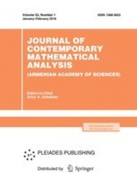 Journal of Contemporary Mathematical Analysis (Armenian Academy of Sciences)