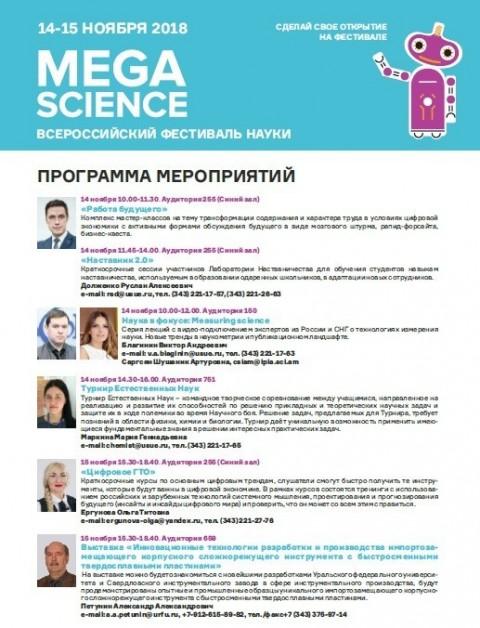Scientometrics in Nauka 0+ Pan-Russian Festival of Science