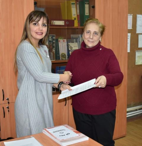 Меморандум о международном сотрудничестве с грузинской организацией ТЕХИНФОРМИ