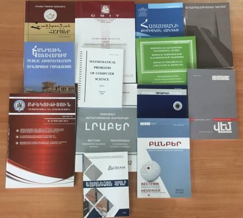 ՀՀ գիտական ամսագրերի Ազեցության գործոն (ArmJIF 2018)